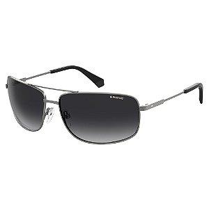 Óculos de Sol Polaroid Pld 2101/S R80 Polarizado - 63 Cinza