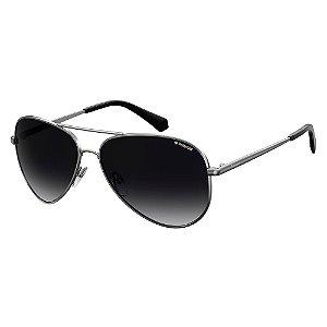 Óculos de Sol Polaroid Pld 6012/N/New 6LB Polarizado - Cinza