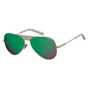 Óculos de Sol Polaroid Pld 2067/S/X 3YG - 60 Dourado