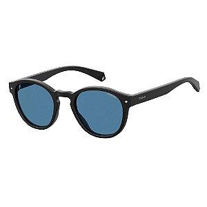Óculos de Sol Polaroid Pld 6042/S 003 Polarizado - 49 Preto