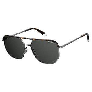 Óculos de Sol Polaroid Pld 2090/S/X 31Z Polarizado - Cinza