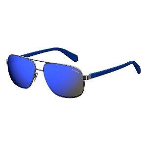 Óculos de Sol Polaroid Pld 2059/S KJ1 Polarizado - 60 Cinza