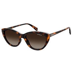Óculos de Sol Polaroid Pld 4080/S 086 Polarizado - Marrom