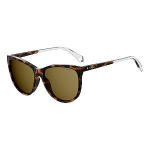 Óculos de Sol Polaroid Pld 4058/S 086 Polarizado - Marrom