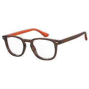 Óculos de Sol Havaianas Botafogo/Cs 12J - 49 Marrom Clip-On