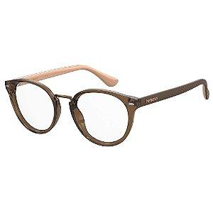 Armação para Óculos Havaianas Prainha/V 09Q 4920 - 49 Marrom