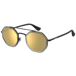Óculos de Sol Havaianas Piaui REJ 50SQ - 50 Preto