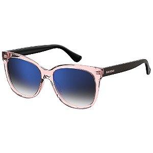 Óculos de Sol Havaianas Sahy 3ZJ 56KM - 56 Rosa