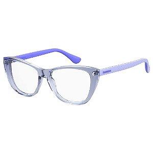 Armação para Óculos Havaianas Arpoador/V G3I 5316 - 53 Lilás