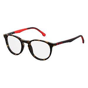 Armação para Óculos Carrera 8829/V 086 4921 - 49 Marrom