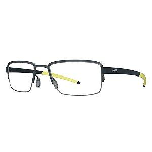 Armação de Óculos HB 93424 Matte Graphite - Active /55