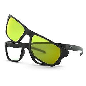 Armação de Óculos HB 93160 Matte Black - Active /53 Clip-On