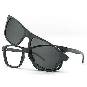 Armação de Óculos HB Switch 0351 - Clip-On Cinza Polarizado