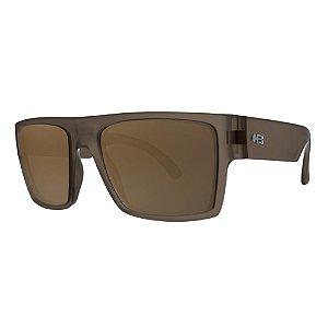 Óculos de Sol HB Loud Matte Brown - Trend /56