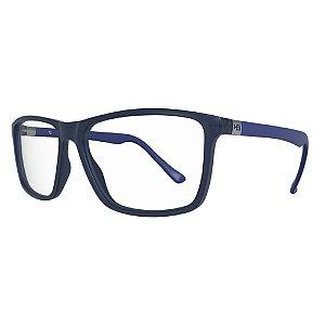 Armação de Óculos HB Polytech 0367 - Matte Blue - Lifestyle