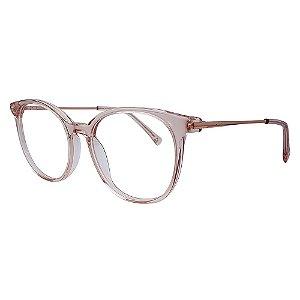 Armação para Óculos de Grau Atitude ATK6025N - Rosa 49