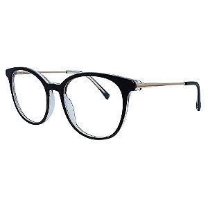 Armação para Óculos de Grau Atitude ATK6025N - Preto 49