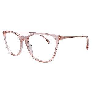 Armação para Óculos de Grau Atitude ATK6023N - Rosa 52