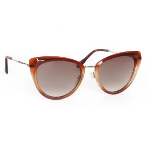 Óculos de Sol Ana Hickmann AH9291C02/55 - Marrom