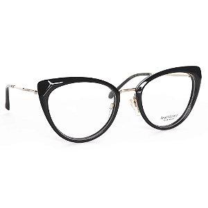 Óculos de Grau Ana Hickmann AH6379A01/53 - Preto