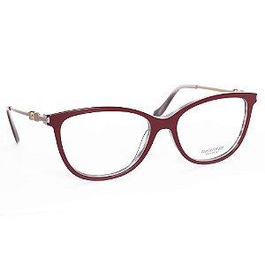 Óculos de Grau Ana Hickmann AH6346H03/54 - Vermelho