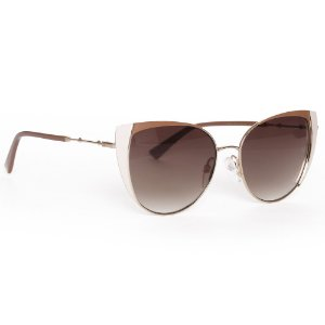 Óculos de Sol Ana Hickmann AH322201B/55 - Marrom
