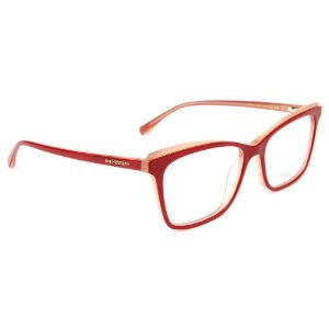 Óculos de Grau Ana Hickmann AH6385 H02/54 Vermelho/Rosa