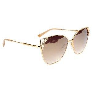 Óculos de Sol Ana Hickmann AH3200 04A/61 Dourado