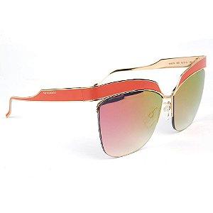 Óculos de Sol Ana Hickmann AH3179 05A/62 Laranja