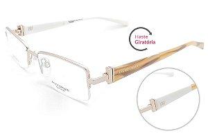 Óculos de Grau Ana Hickmann AH1266 04A/51 Dourado