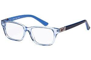 Óculos de Grau Tigor T Tigre VTT061 C1/47 Transparente/Azul