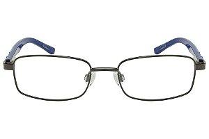 Óculos de Grau Tigor T Tigre VTT049 C2/47 Preto/Azul