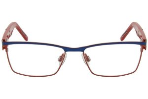 Óculos de Grau Tigor T Tigre VTT044 C2/48 Azul/Vermelho
