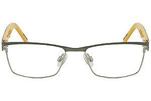 Óculos de Grau Tigor T Tigre VTT044 C1/48 Preto/Amarelo
