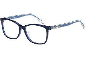 Óculos de Grau Victor Hugo VH1766 06N4/53 Azul