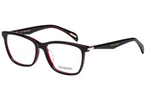 Óculos de Grau Victor Hugo VH1760 06Q1/54 Preto/Vermelho