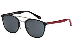 Óculos de Sol Tigor T Tigre STT079 C04/49 Preto/Vermelho