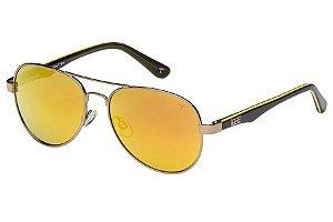 Óculos de Sol Tigor T Tigre STT057 C06/50 Bronze/Preto