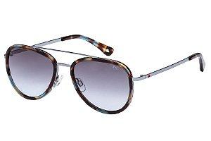 Óculos de Sol Lilica Ripilica SLR113 C05/50 Mesclado Marrom