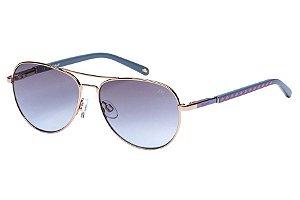 Óculos de Sol Lilica Ripilica SLR110 C01/50 Dourado/Azul