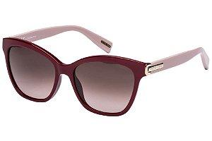 Óculos de Sol Victor Hugo SH1741 0G96/55 Bordô/Rose