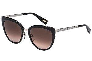 Óculos de Sol Victor Hugo SH1259 A39K/54 Preto/Prata