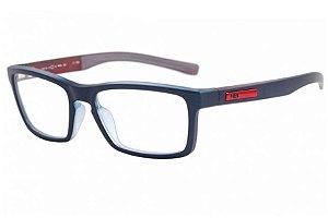 Óculos de Grau HB Polytech Teen 93123/53 Azul Fosco/Bordo