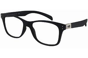 Óculos de Grau HB Polytech Teen 93123/53 Preto Fosco