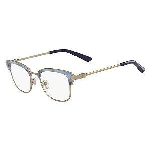 Óculos de Grau Calvin Klein CK8066 434/51 - Azul