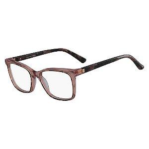 Óculos de Grau Calvin Klein CK8580 643/52 Tartaruga Rosa
