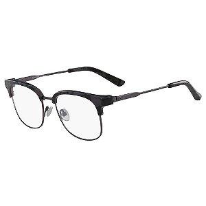 Óculos de Grau Calvin Klein CK8060 026/52 Tartaruga Cinza