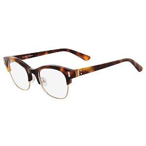 Óculos de Grau Calvin Klein CK8550 218/49 Tartaruga