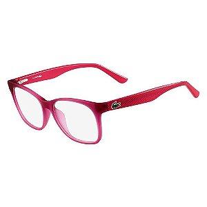 Óculos de Grau Lacoste L2767 526/54 Vermelho