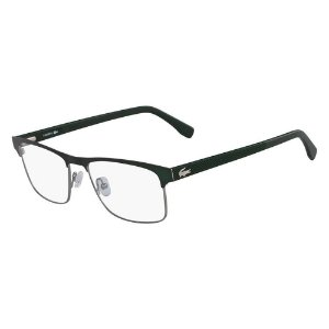 Óculos de Grau Lacoste L2198 315/55 Verde Fosco